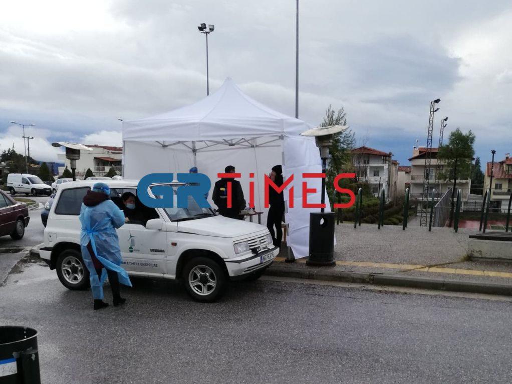 Ωραιόκαστρο: Δωρεάν drive through rapid test την Πέμπτη και το Σάββατο