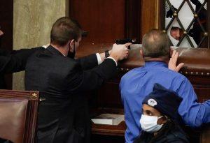 ΗΠΑ: Σε διαθεσιμότητα αστυνομικός για θανατηφόρο τραυματισμό στο Καπιτώλιο