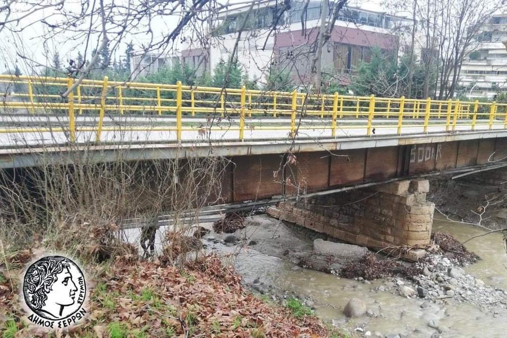 Σέρρες: Προβλήματα στο οδικό δίκτυο από την κακοκαιρία