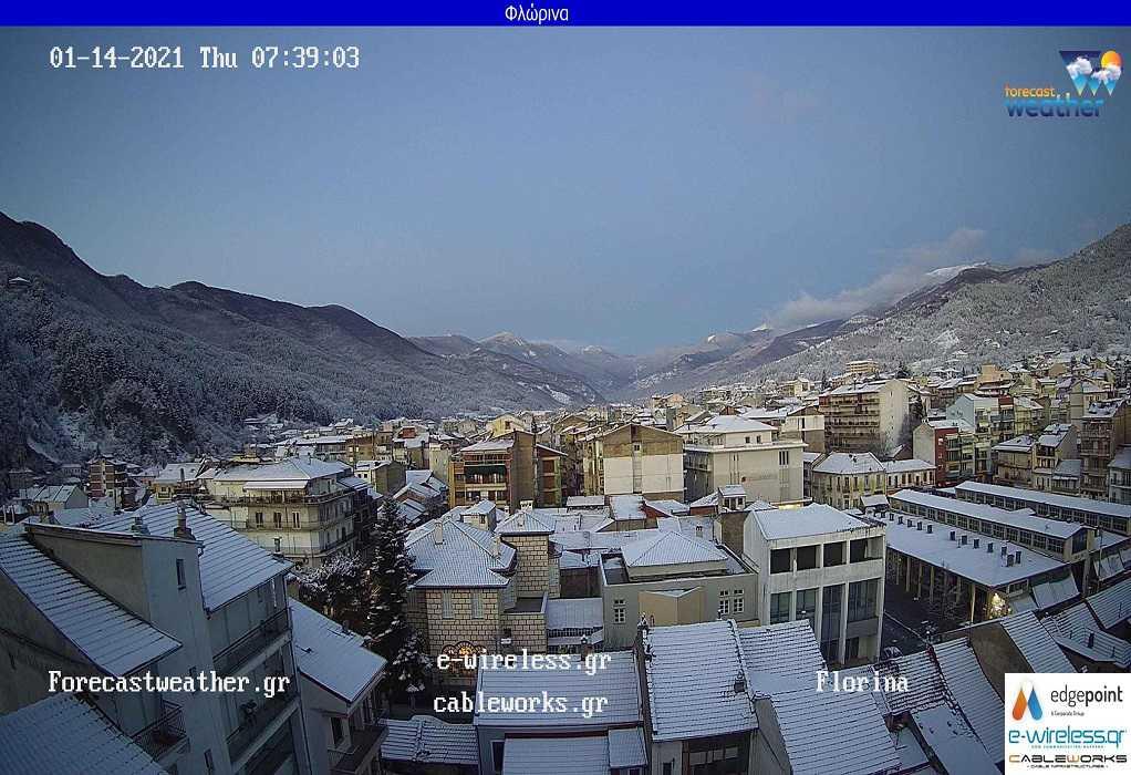 Κακοκαιρία «Λέανδρος»: Δείτε LIVE πού χιονίζει σε όλη την Ελλάδα