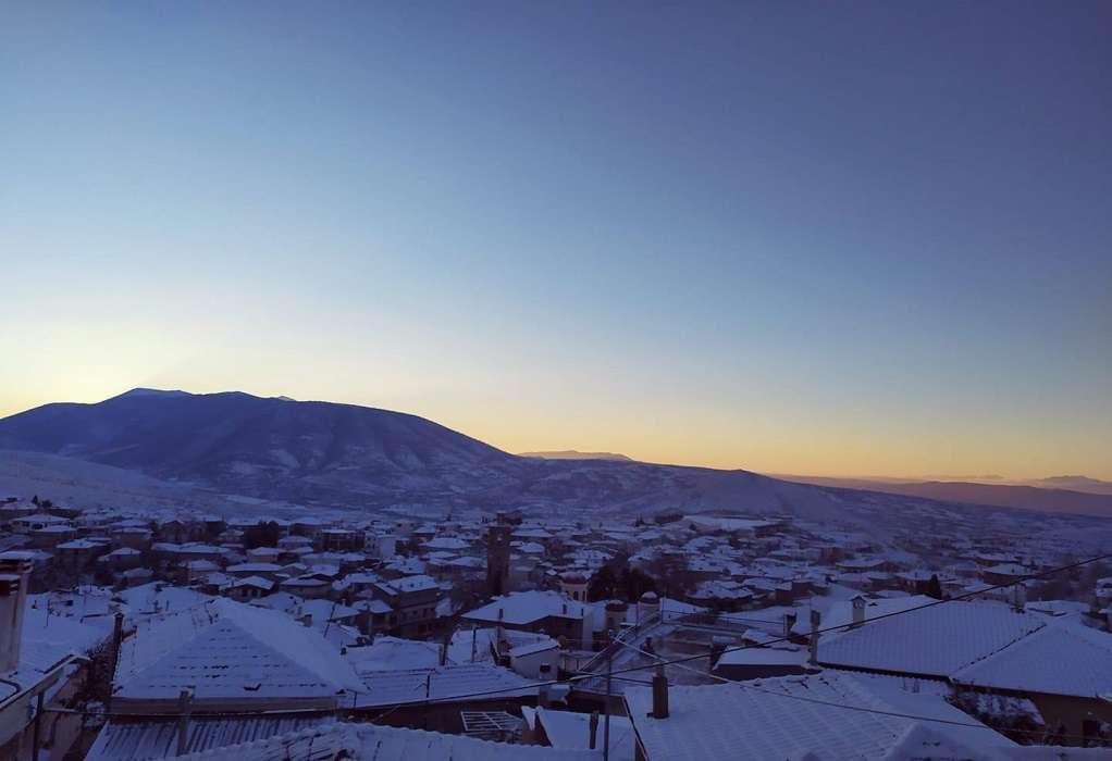 Παραμένει στην «κατάψυξη» η Δυτ. Μακεδονία: -13,4 °C η θερμοκρασία σήμερα το πρωί
