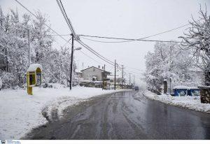 Έρχεται η κακοκαιρία «Λέανδρος»: Ισχυρό ψύχος και χιονοπτώσεις από την Πέμπτη