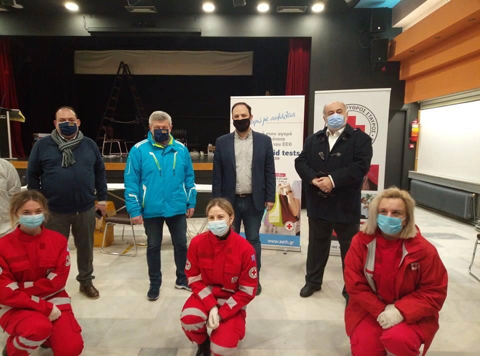 Δήμος Καλαμαριάς: Rapid Tests σε δημότες και επαγγελματίες