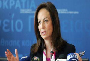 Διαμαντοπούλου: Η επιλογή μίας γυναίκας επικεφαλής στον ΟΟΣΑ θα σπάσει ακόμα μία γυάλινη οροφή