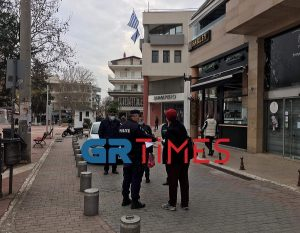 Κορδελιό-Εύοσμος: Διαμαρτυρία κατοίκων και επιχειρηματιών για το lockdown (VIDEO)