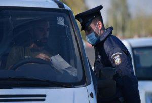 Έλεγχοι Covid: 149 καμπάνες για μετακίνηση στη Θεσσαλονίκη