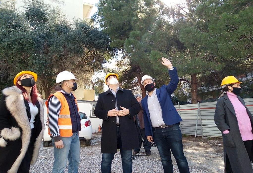 Αυτοψία Τζιτζικώστα – Δαρδαμανέλη στο 23ο Δημοτικό Καλαμαριάς