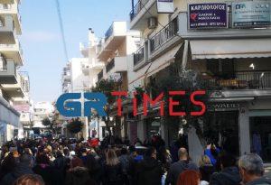 Εύοσμος: Νέα διαμαρτυρία σήμερα για το lockdown