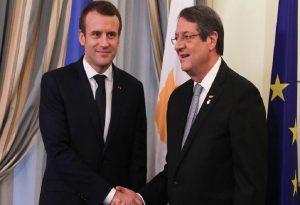 Το Κυπριακό στο επίκεντρο για Αναστασιάδη – Μακρόν