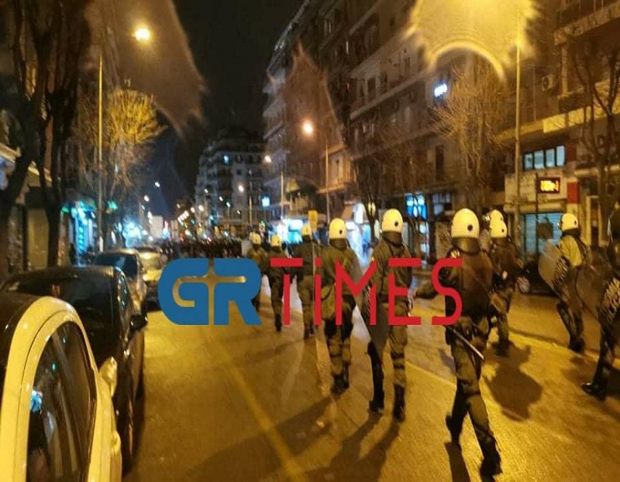 Θεσσαλονίκη: Επεισόδια μεταξύ ΕΛΑΣ και διαδηλωτών στο κέντρο (VIDEO-ΦΩΤΟ)