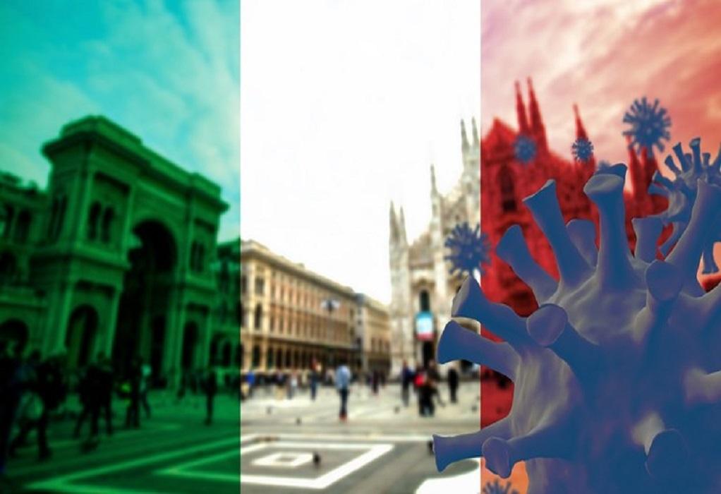 Ιταλία-Covid-19: 12.074 κρούσματα και 390 θάνατοι σε 24 ώρες