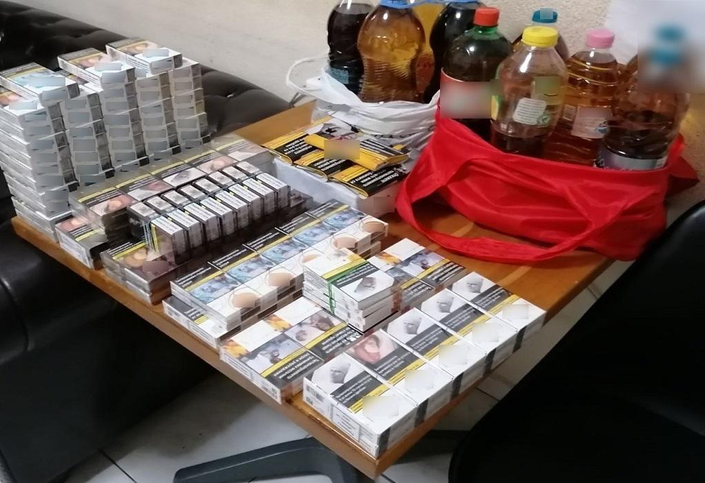 Προμαχώνας: Προσπάθησαν να περάσουν λαθραία τσιγάρα και ποτά