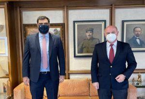 Συνάντηση με τον υπουργό Δικαιοσύνης είχε ο πρόεδρος της ΟΝΝΕΔ