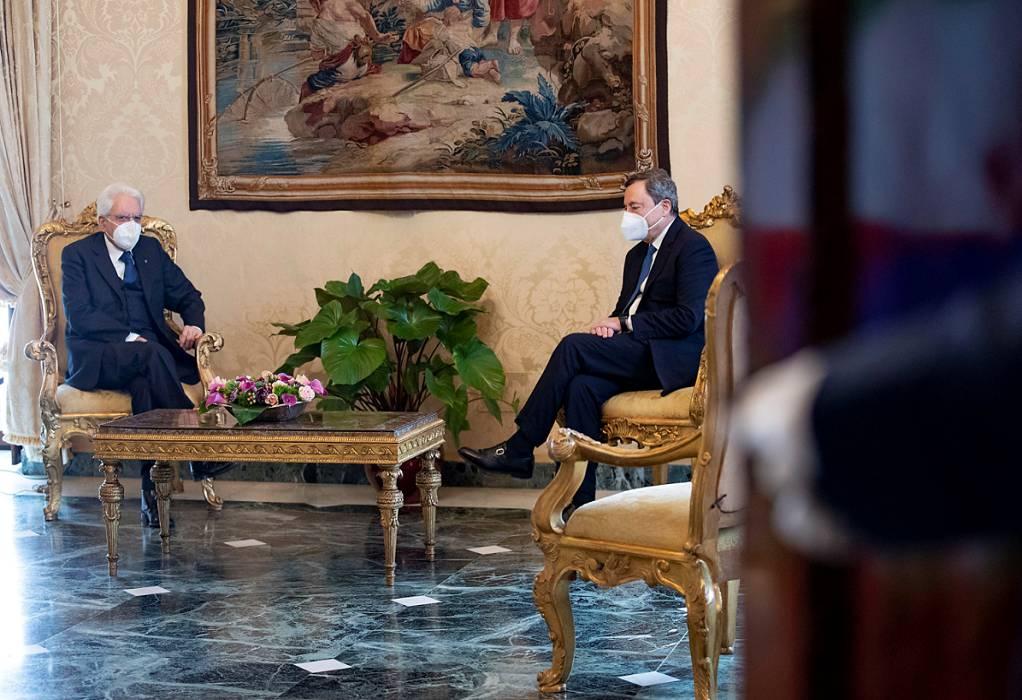 Ιταλία: Στον Ντράγκι η εντολή σχηματισμού κυβέρνησης – «Η κατάσταση είναι δύσκολη»