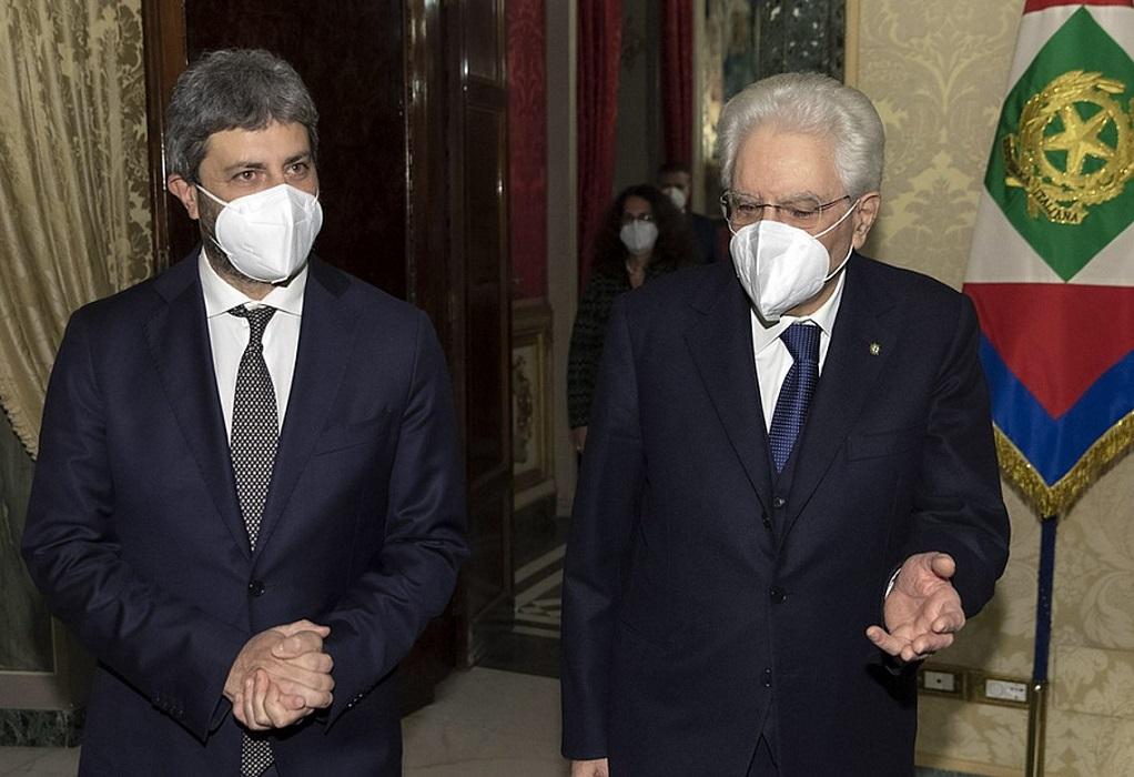 Ιταλία: Απέτυχε η διερευνητική εντολή του προέδρου της Βουλής