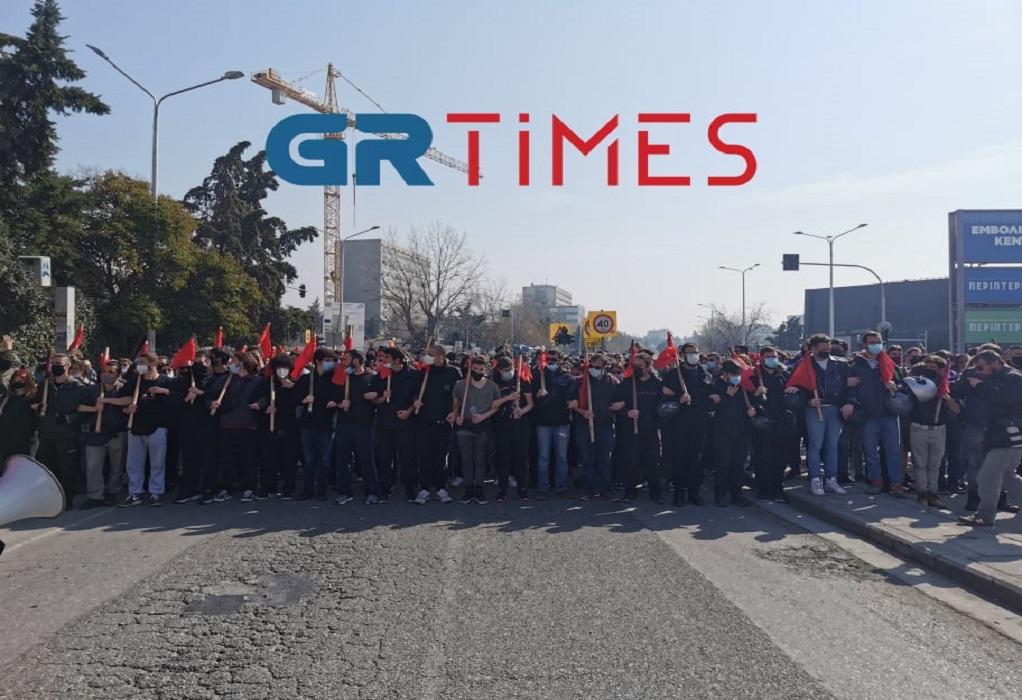 ΑΠΘ: Ξεκίνησε η πορεία διαμαρτυρίας των φοιτητών (ΦΩΤΟ+VIDEO)