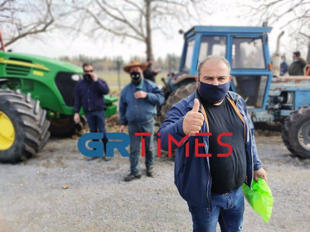"""Γιαννιτσά: Κινητοποίηση αγροτών με τρακτέρ – """"Δεν είμαστε ζητιάνοι!"""" (ΦΩΤΟ+VIDEO)"""
