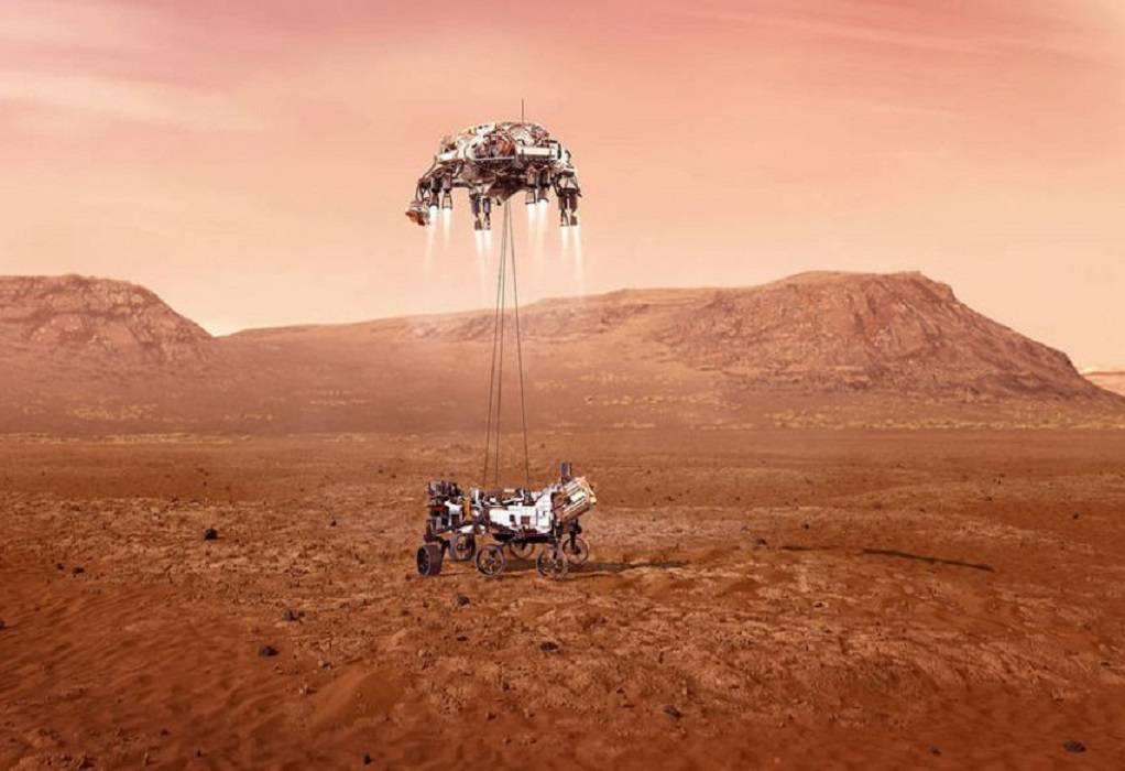 NASA-Perseverance: Στη δημοσιότητα το βίντεο από την προσεδάφιση στον Άρη