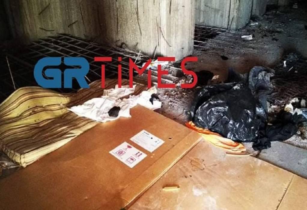 Νεκρός άστεγος σε κτήριο του ΑΠΘ (ΦΩΤΟ-VIDEO)