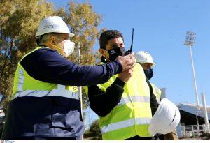Αυγενάκης: Στο ΟΑΚΑ φτιάχνουμε το μεγαλύτερο κέντρο υγρού στίβου στην Ευρώπη