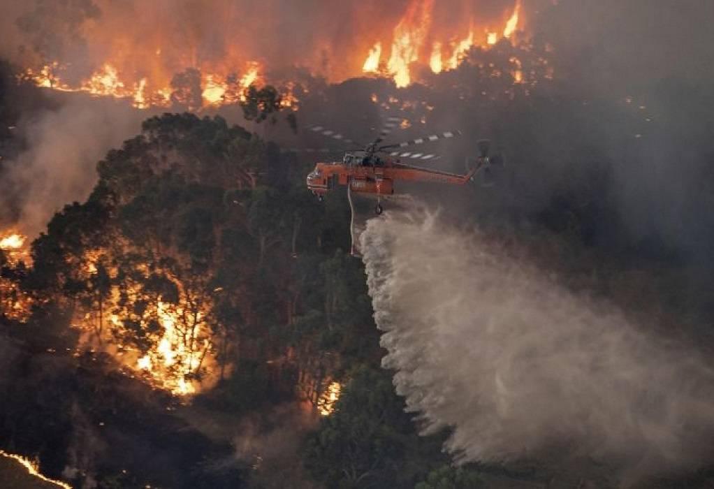 Αυστραλία: 71 σπίτια καταστράφηκαν από την πυρκαγιά