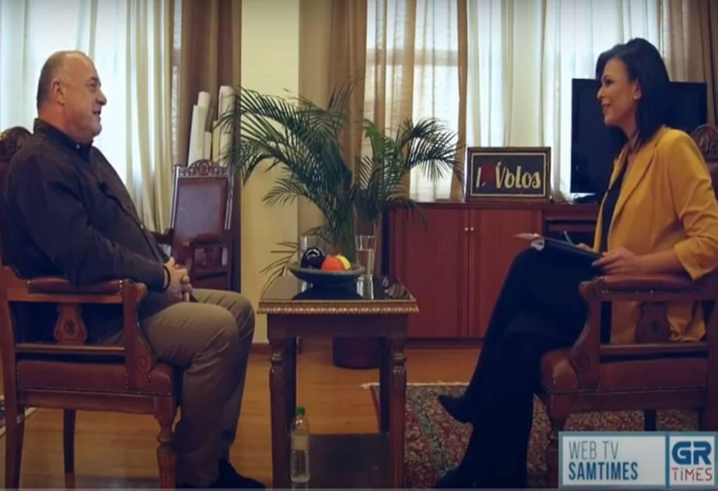 Αχιλλέας Μπέος: Ο Βόλος δεν έχει να ζηλέψει τίποτα από το Μονακό! (VIDEO)