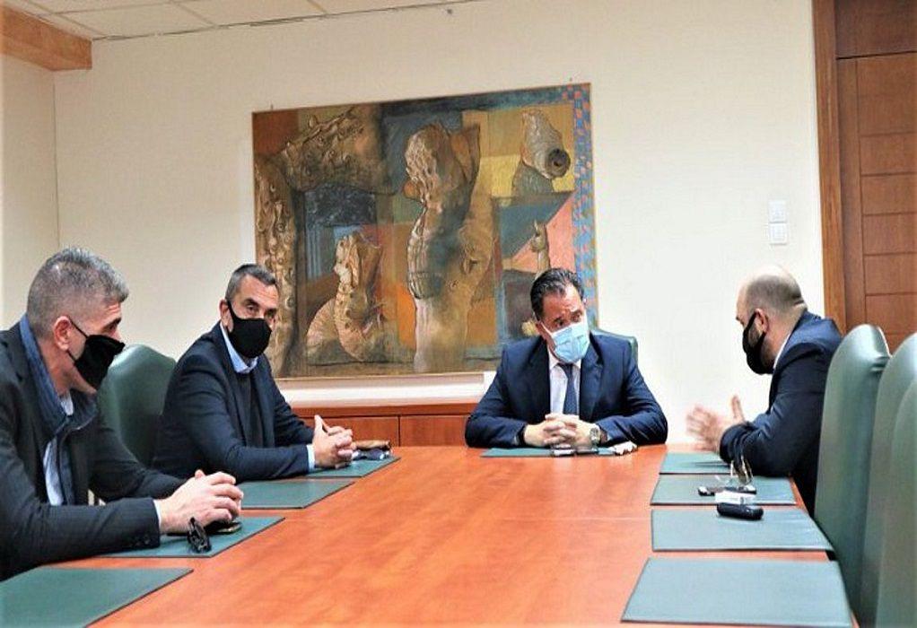 Συνάντηση Γεωργιάδη με την Ομοσπονδία Εκπαιδευτών Υποψηφίων Οδηγών Ελλάδος