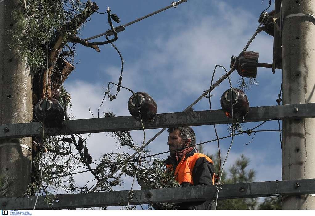 Κακοκαιρία «Μήδεια»: Αποκαταστάθηκε η ροή ηλεκτροδότησης στο Ρέθυμνο