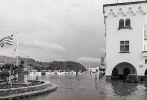 Κακοκαιρία: Βούλιαξαν από τη βροχή Σάμος και Πάτμος – Πολλά τα προβλήματα