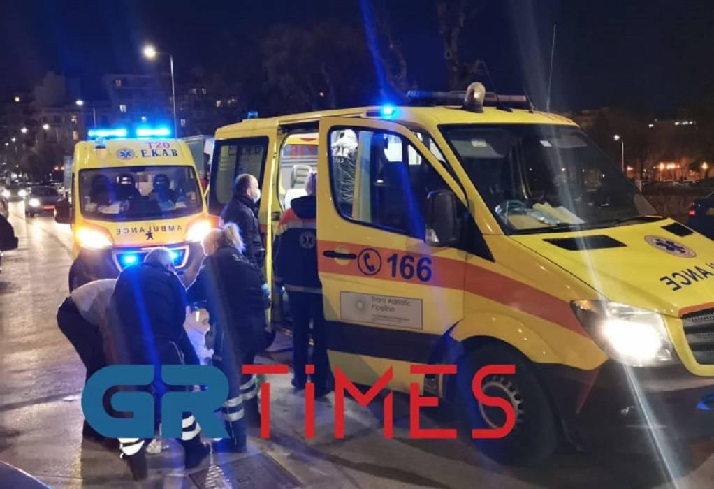 Μαχαίρωσαν ζευγάρι στο κέντρο της Θεσσαλονίκης (ΦΩΤΟ+VIDEO)