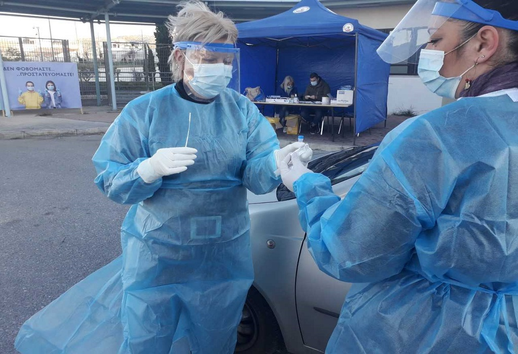 ΕΟΔΥ: 20.524 rapid test – 342 κρούσματα κορωνοϊού