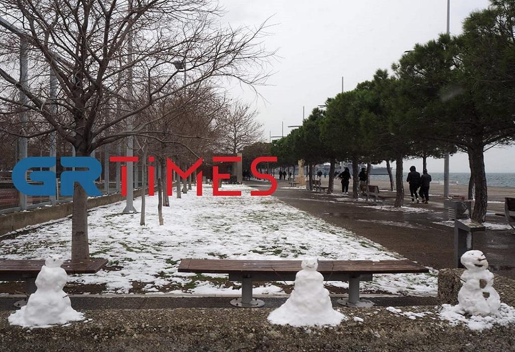 Παραλία Θεσσαλονίκης: Άθληση, βόλτα και ευκαιρία για μιαν… άσπρη μέρα! (ΦΩΤΟ)