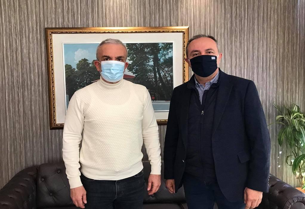 """Συνάντηση Ιωαννίδη-Καράογλου – """"Ο δ. Δέλτα απαιτεί έργα υποδομής"""""""