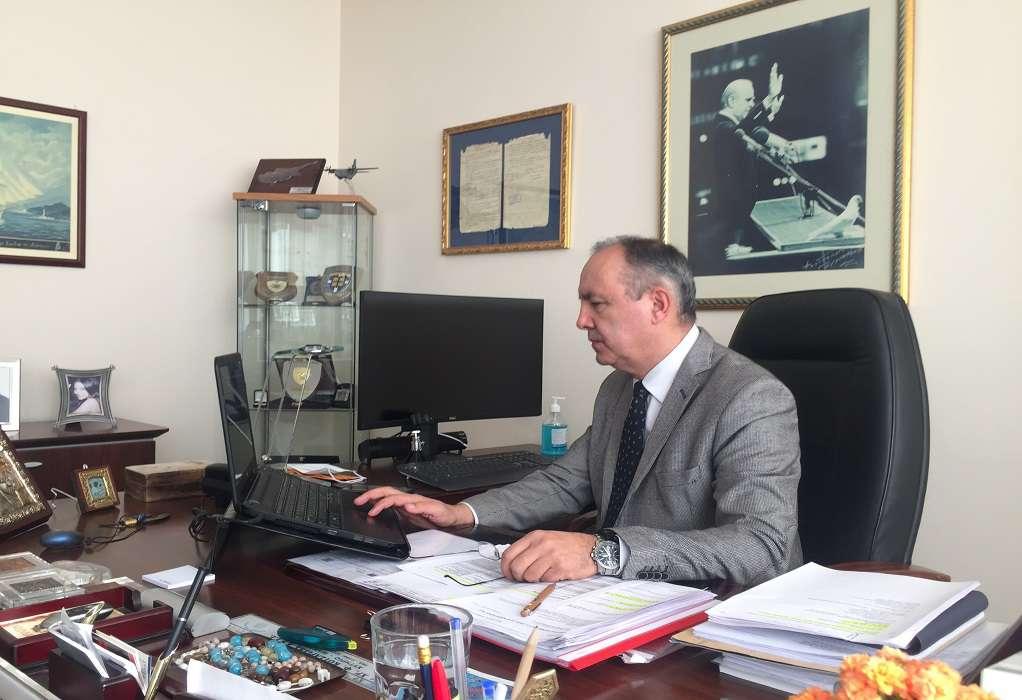 Ο Θ. Καράογλου επικεφαλής της Ελληνικής Αντιπροσωπείας στην Κοινοβουλευτική Συνέλευση του ΟΑΣΕ