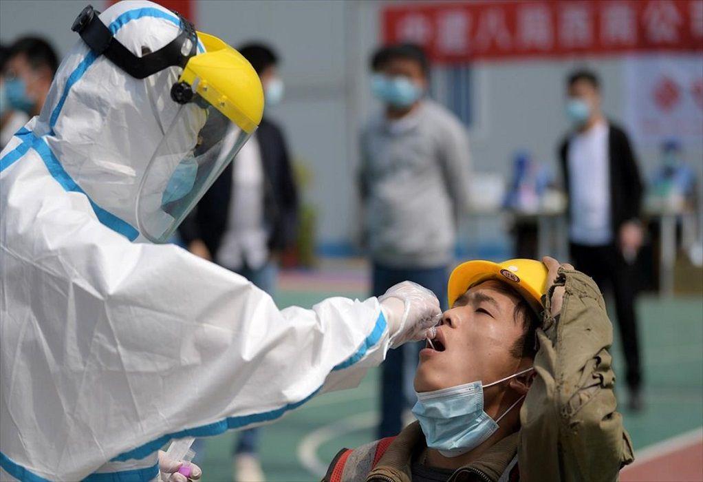 Κίνα-Covid-19: 124 κρούσματα σε 24 ώρες