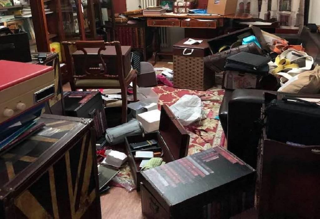 """Διαρρήκτες έκαναν """"άνω κάτω"""" σπίτι στην Καλαμαριά (ΦΩΤΟ)"""