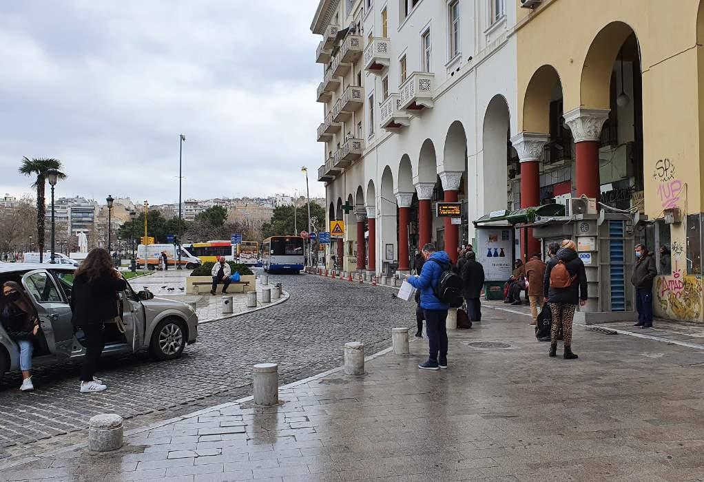 Ομαλά πλέον οι συγκοινωνίες στο νομό Θεσσαλονίκης
