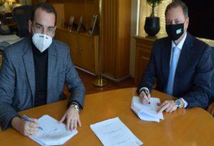 Συνυπογραφή σχεδίου βόσκησης ΥπΑΑΤ και Περιφέρεια Δυτικής Ελλάδας