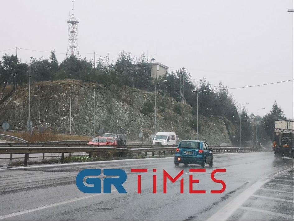 Θεσσαλονίκη: Κλειστοί δρόμοι – Που χρειάζονται αντιολισθητικές αλυσίδες στην ΠΚΜ