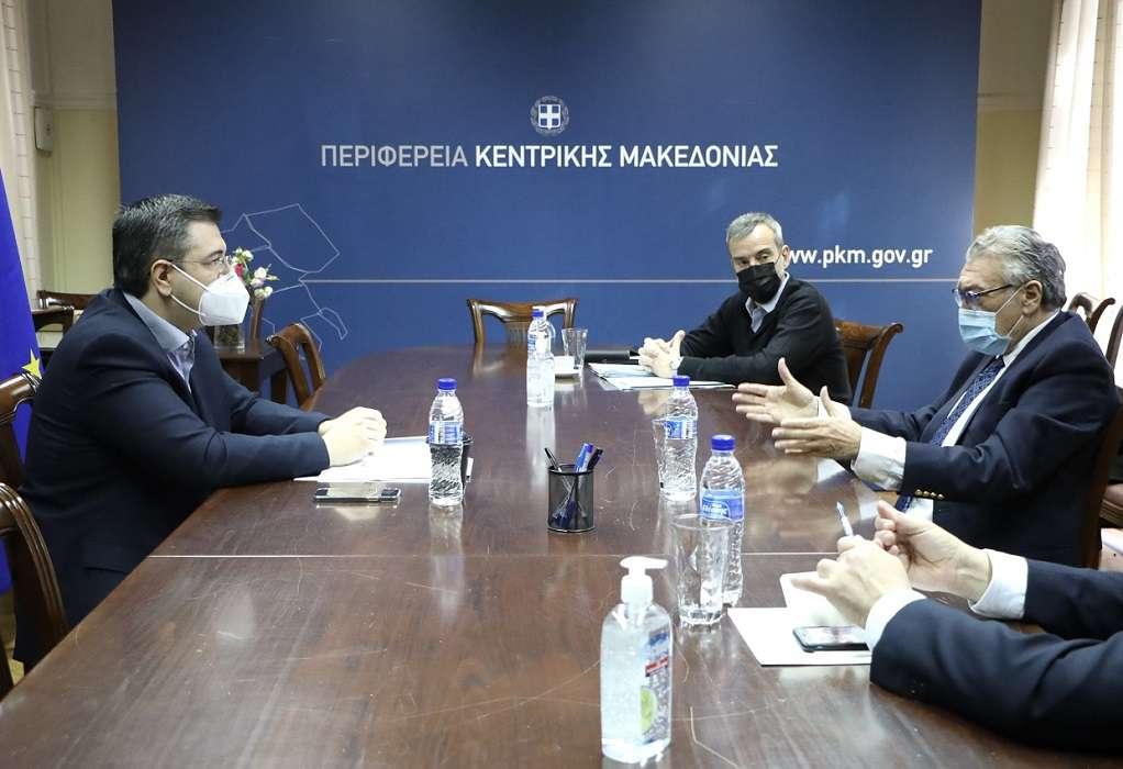 ΠΚΜ: Συνάντηση για την πορεία υλοποίησης του Μουσείου Ολοκαυτώματος στη Δυτ. Θεσσαλονίκη