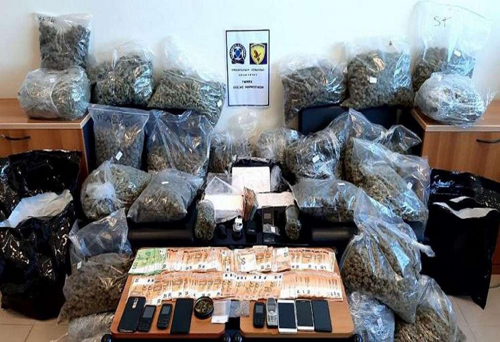 Εξαρθρώθηκε κύκλωμα ναρκωτικών σε Ηράκλειο και Αθήνα