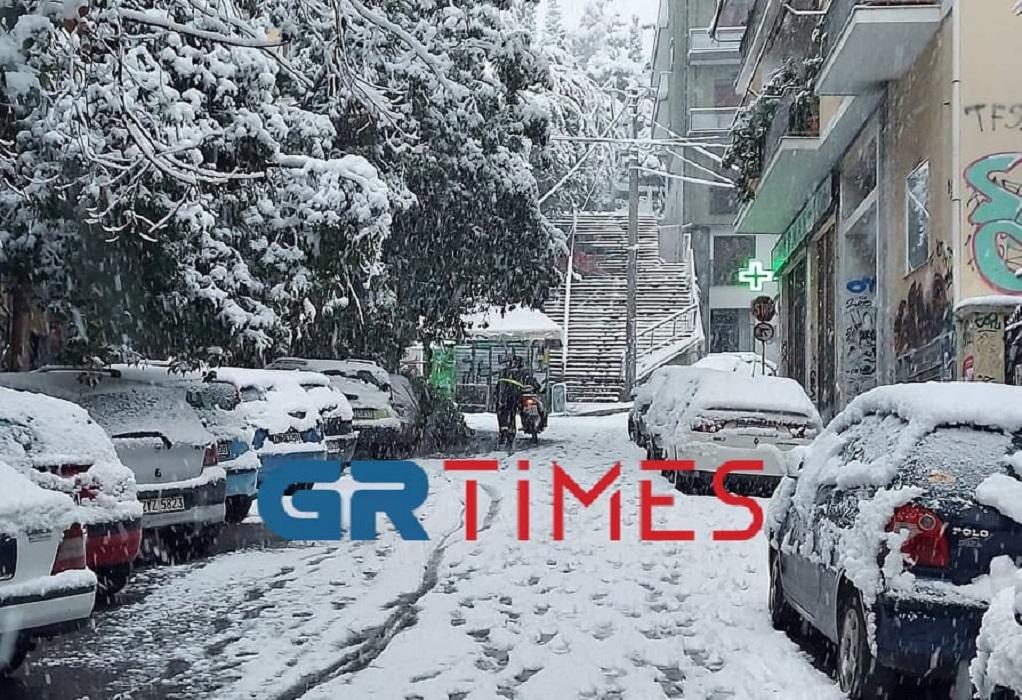 """Απίστευτα βίντεο με ντελιβεράδες να """"παλεύουν"""" με τα χιόνια – Πάνω από 80 καταγγελίες"""