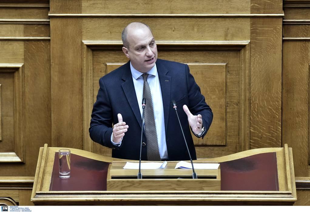 Οικονόμου: Η κυβέρνηση στήριξε ουσιαστικά τον πρωτογενή τομέα (ΗΧΗΤΙΚΟ)