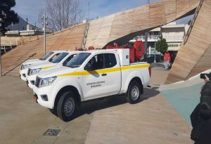 Παραδόθηκαν οχήματα και εξοπλισμός στο δήμο Θέρμης (ΦΩΤΟ)