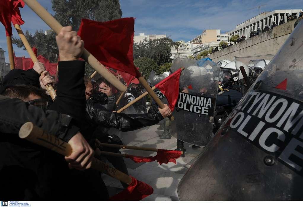 Στον Εισαγγελέα οι συλληφθέντες για τα χθεσινά επεισόδια στην Αθήνα