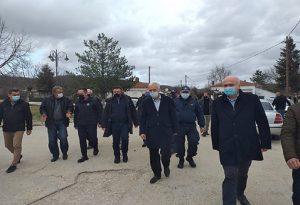 Έβρος: Στις πληγείσες περιοχές ο Σ. Πέτσας