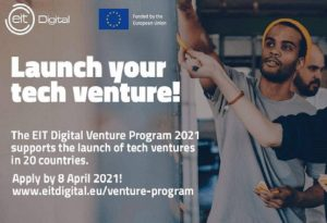Άνοιξε για startuppers το EIT Digital Venture Program