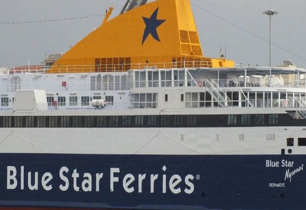 """Κακοκαιρία """"Μήδεια"""": Πρόσκρουση πλοίου στο λιμάνι του Αγ. Κηρύκου"""