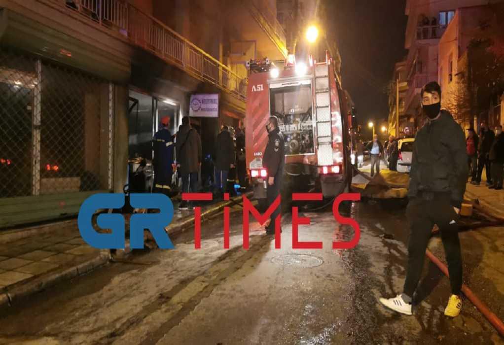Θεσσαλονίκη: Ένας νεκρός από πυρκαγιά σε κατάστημα