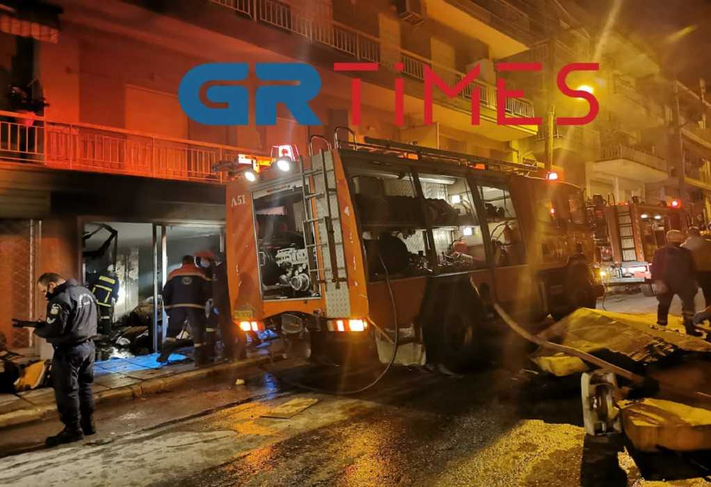 Θεσσαλονίκη: Πυρκαγιά σε κατάστημα – Ένας νεκρός (ΦΩΤΟ+VIDEO)